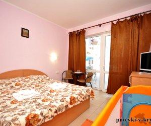 Двухместные апартаменты в отеле АкваМарин