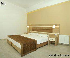 Двухкомнатные апартаменты в отеле Черноморский 36