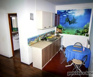 Двухкомнатный номер «Морской» с кухней в Яна Каро 6