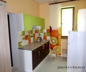 Четырехместные апартаменты с кухней в КК «Солнце и Море» № 66