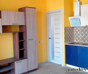 Двухкомнатные апартаменты с террасой в коттедже в ЖК «Палермо» 93