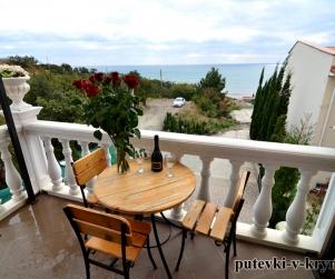 Четырехместные апартаменты «Люкс» с видом на море Вилла Арнис