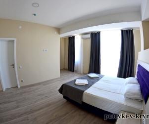 Апартаменты с видом на море «Комфорт» в отеле КК «Черноморский» 54