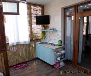 Двухкомнатные апартаменты с закрытой террасой в КК «Солнце и Море» № 73 двухком