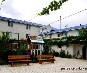 Дом отдыха у моря «Экватор» Оленевка Крым