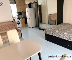 Четырехместные апартаменты с террасой в коттедже в ЖК «Палермо» 86