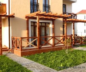 Четырехместные апартаменты с террасой в КК «Солнце и Море» № 65