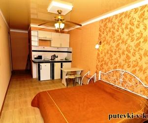Двухместные апартаменты «Люкс» с кухней Вилла Арнис
