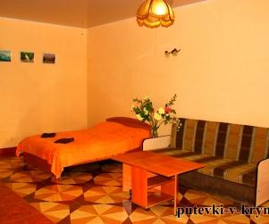 Шестиместные, двухкомнатные апартаменты «Уют» Вилла Арнис