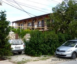 Гостевой дом у моря «Виктория» на Агафонова Черноморское