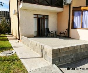 Апартаменты с террасой в Коттеджном Комплексе «Солнце и Море» № 37