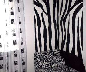Трехместный номер «Зебрано» в гостевом доме «Юлана» Севастополь Орловка