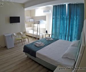 Апартаменты с видом на море «Комфорт» в отеле КК «Черноморский» 56