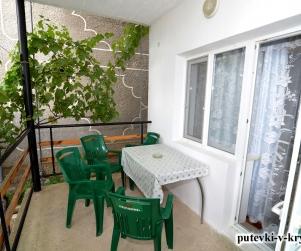 Четырехместный номер в гостевом доме «Севиля» Курортное Феодосия