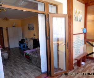 Четырехместные апартаменты с кухней в КК «Солнце и Море» № 83