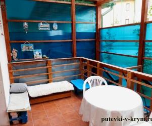 Четырехместные апартаменты с закрытой террасой в КК «Солнце и Море» № 75