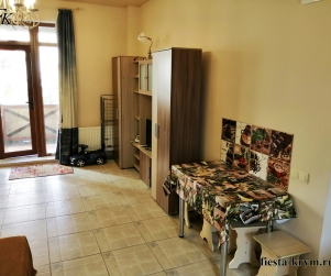 Апартаменты с террасой и кухней в КК «Солнце и Море» № 84