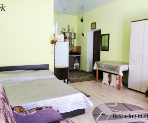 Четырехместный апартаменты с кухней и балконом в комплексе Капри № 92