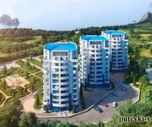 Жилищный комплекс «Шале Ла Рош» Гурзуф Крым