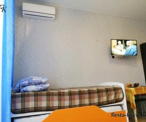 Четырехместные апартаменты с балконом в корпусе ЖК Палермо № 4