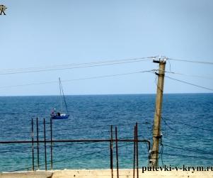 Четырехместные апартаменты с видом на море в КК Солнце и Море № 42