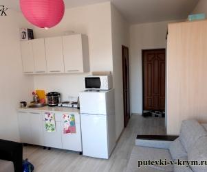 Трехместные апартаменты в корпусе ЖК «Палермо» 74