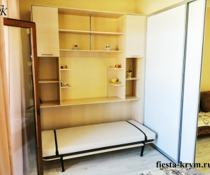 Двухкомнатные апартаменты с кухней в комплексе Солнце и Море № 54