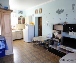 Четырехместные апартаменты с кухней и балконом в КК «Солнце и Море» Черноморское Крым № 88