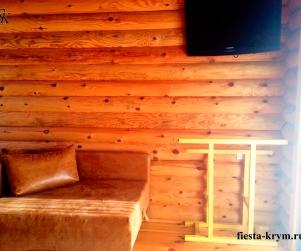 Трехместный номер с видом на море в гостевом доме «Татьяна» Севастополь Орловка